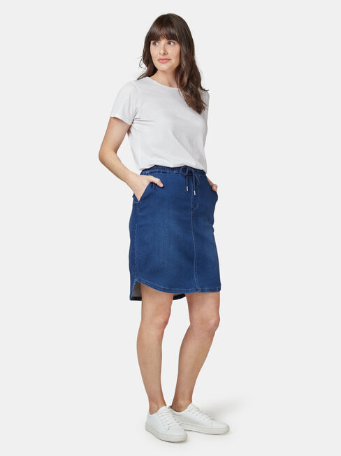 Lulu Luxe Lounge Knee Length Skirt