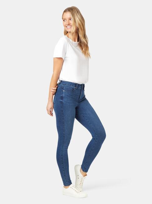 Freeform 360 Contour Skinny 7/8 jeans / Dark Vintage, LightWash, hi-res