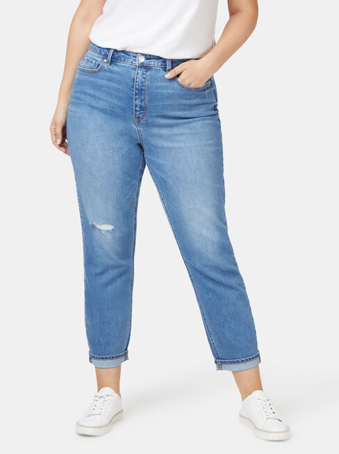 Curve Embracer Mom Jean