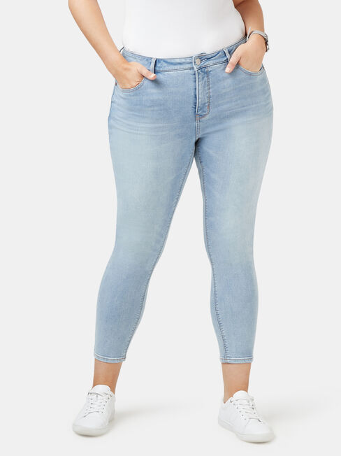 Lacey Curve Embracer skinny Crop jeans