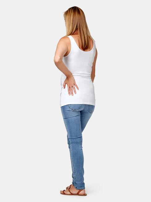 Maternity Skinny Jeans Soft Vintage, Light Indigo, hi-res