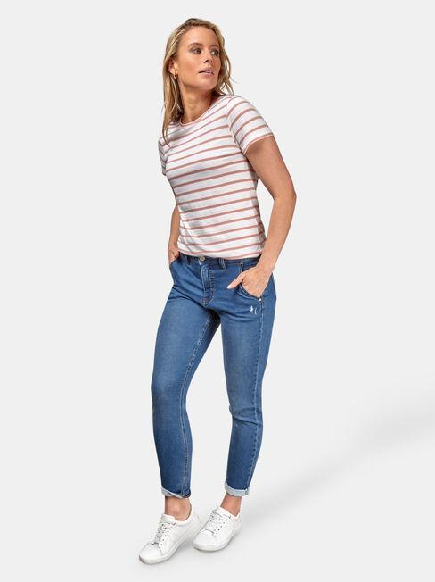 Serrado Fuerza motriz Operación posible  Lois Slim Boyfriend Jeans | Jeanswest