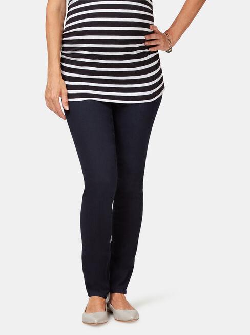 Maternity Skinny jeans Indigo Ink / Elastic ins