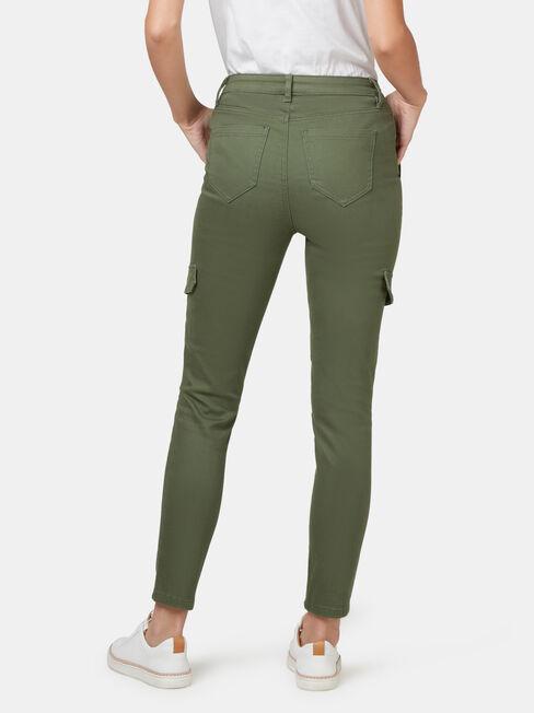 Frankie Utility Pant, Green, hi-res