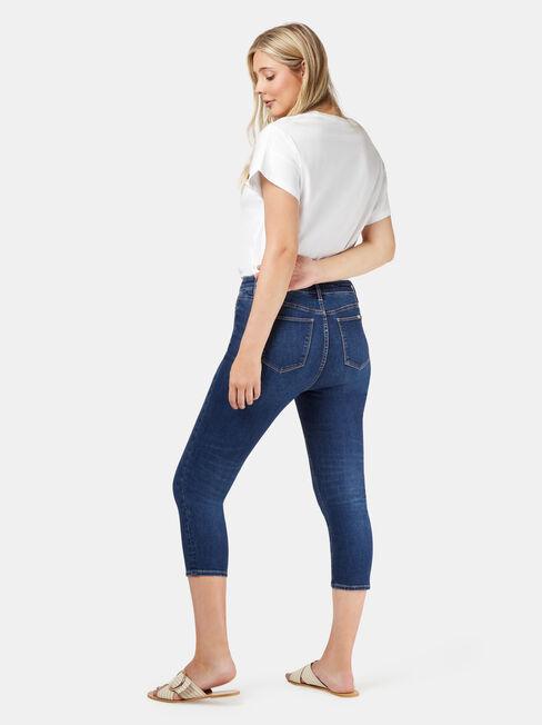 Kia Curve Embracer Skinny Capri, Mid Indigo, hi-res