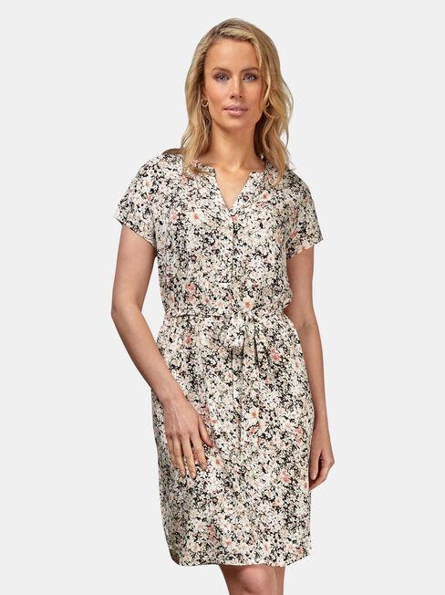 Lily Shift Dress, Multi, hi-res