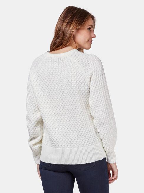 Fi Pullover, White, hi-res