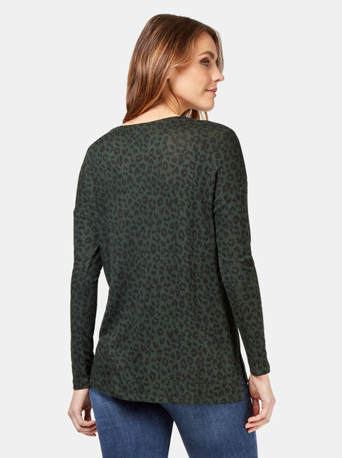 Sarah Soft Touch Pullover, Green, hi-res