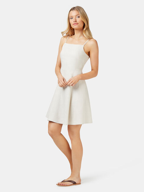 Eden Cami Dress, White, hi-res