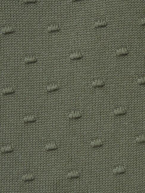 Abby Bobble Knit, Green, hi-res