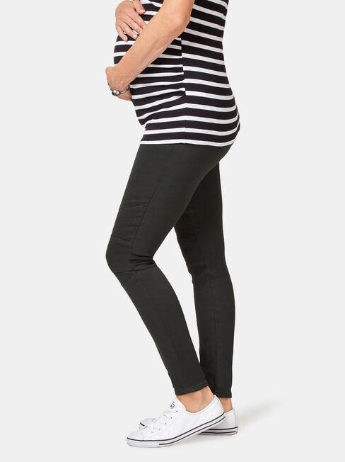 Meadow Maternity Pant, Green, hi-res