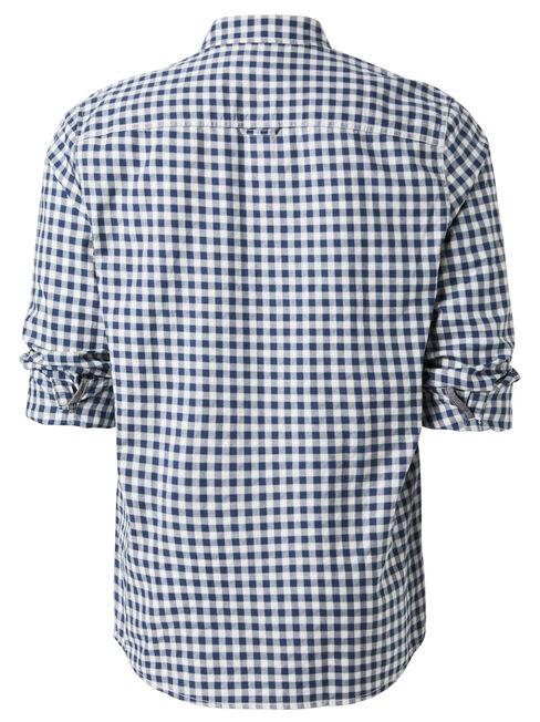Robinson Long Sleeve Check Shirt, Blue, hi-res
