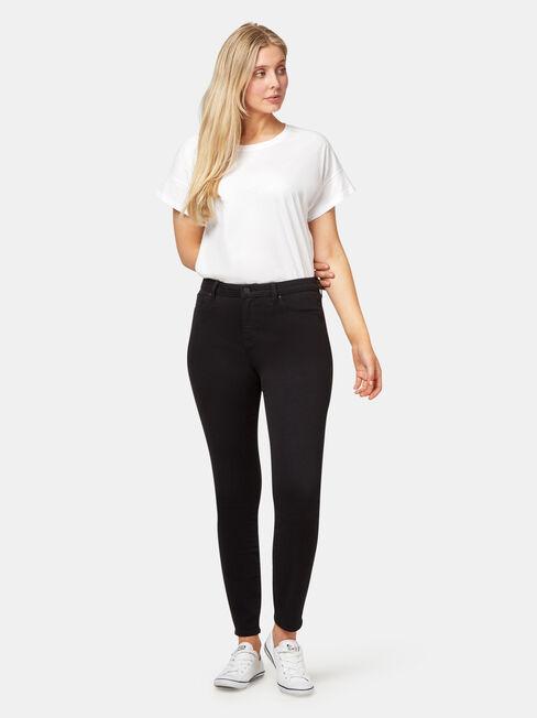 Curve Embracer Skinny Jeans, Black, hi-res
