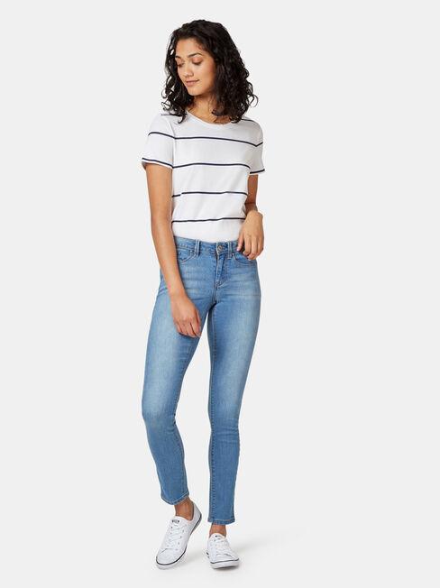 Skinny Jeans Soft Blue, Light Indigo, hi-res