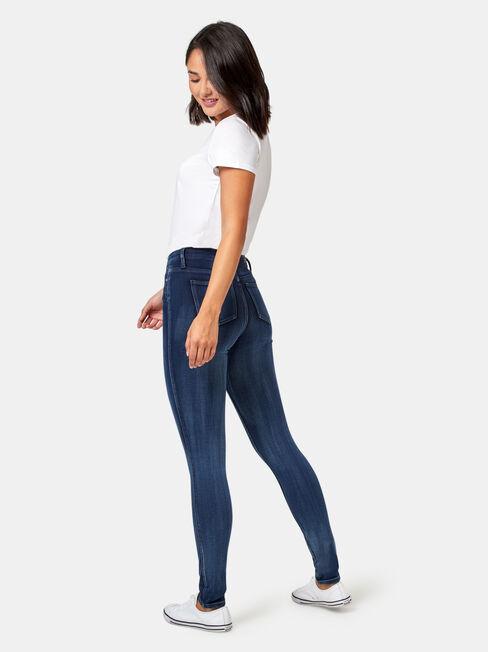 Freeform 360 Skinny Jeans Imperial Blue, Mid Indigo, hi-res