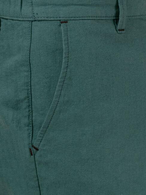 Tommy Tie Front Short, Blue, hi-res