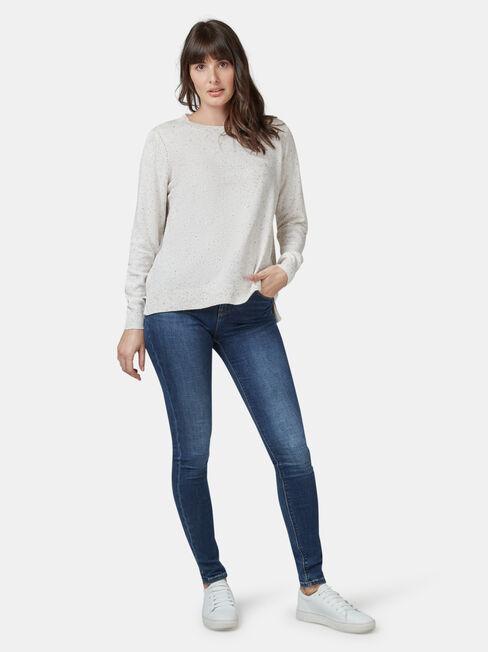 Aspen Curve Hem Essential Knit