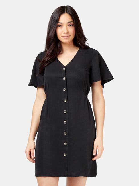 Casey Button Through Dress