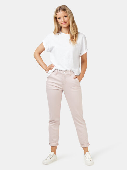 Lois Slim Boyfriend Jeans, Coloured, hi-res