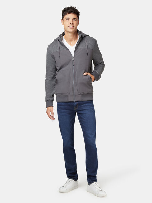 Floydd Fleece Jacket, Grey, hi-res