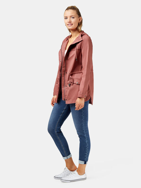 Adele Casual Jacket +, Pink, hi-res