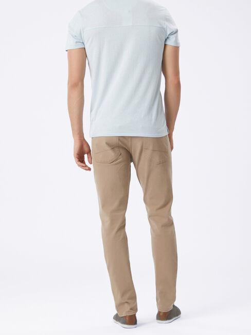 Slim Tapered Jeans Dark Stone, Coloured, hi-res