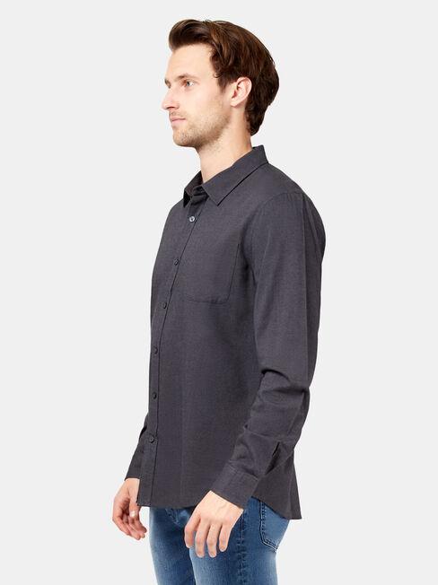 Oliver Long Sleeve Shirt, Grey, hi-res