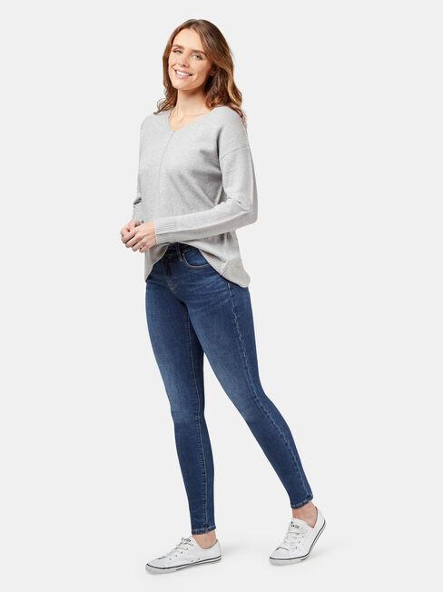 Vienna Pullover, Grey, hi-res