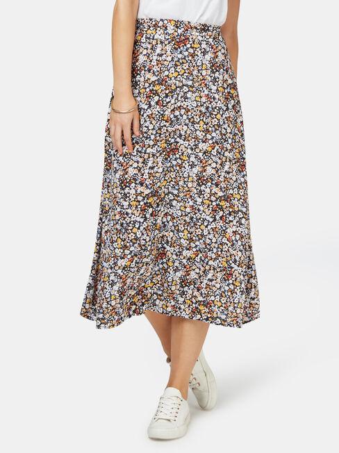 Imogen Split Midi Skirt