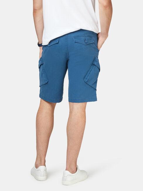 Archie Cargo Short, Blue, hi-res
