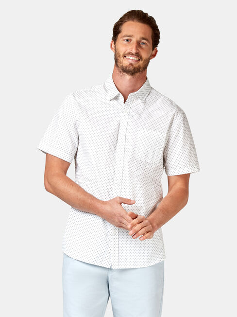 Devon Short Sleeve Print Shirt