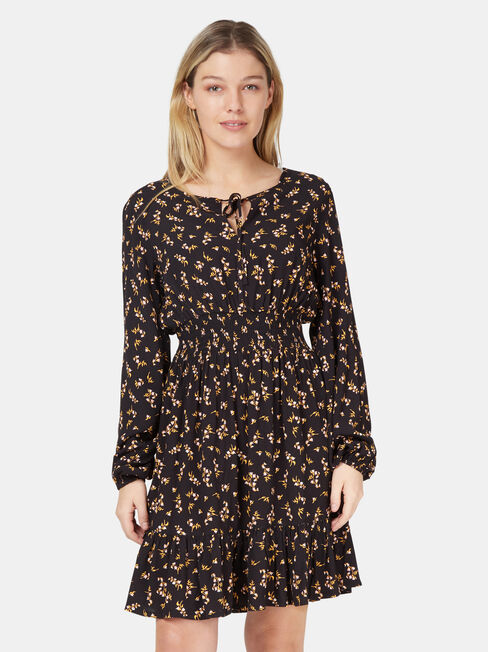 Byron Shirred Waist Dress