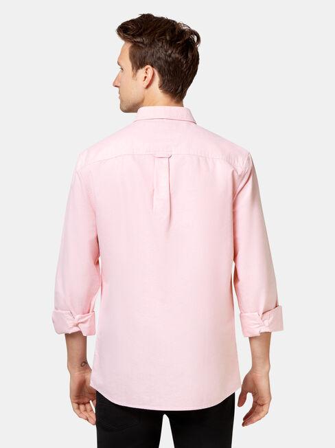LS Jayden Oxford Shirt, Red, hi-res