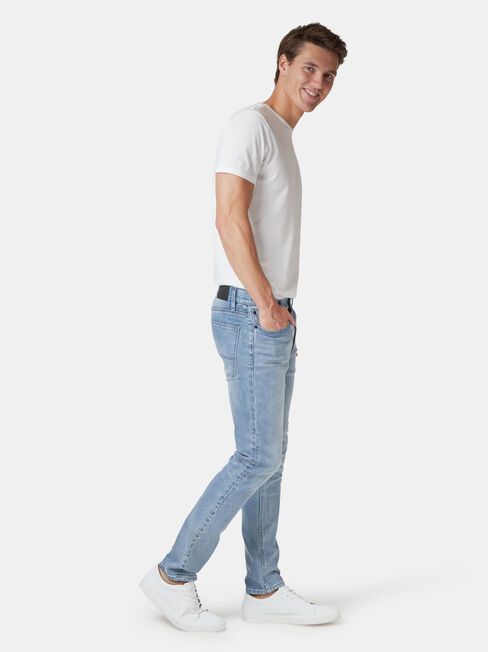 Skinny Jeans Modern Blue, Light Indigo, hi-res