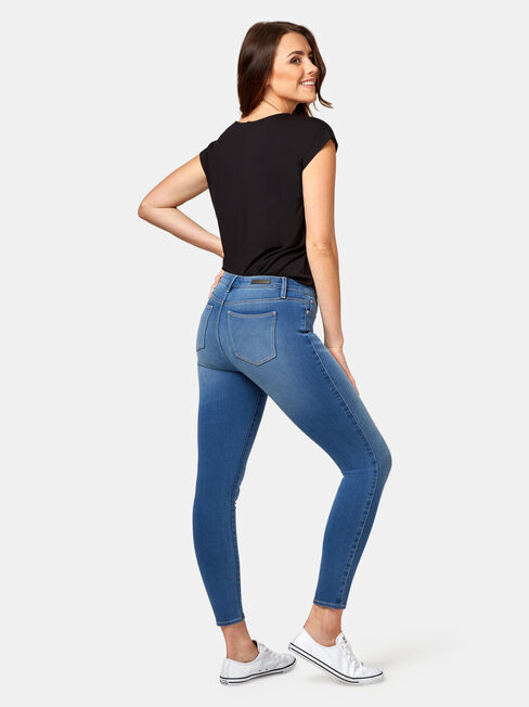 Freeform 360 Skinny 7/8 Jeans Sublime Blue, Mid Indigo, hi-res