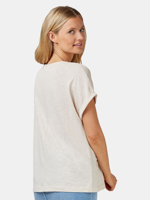 Drop Shoulder Tee, Other, hi-res