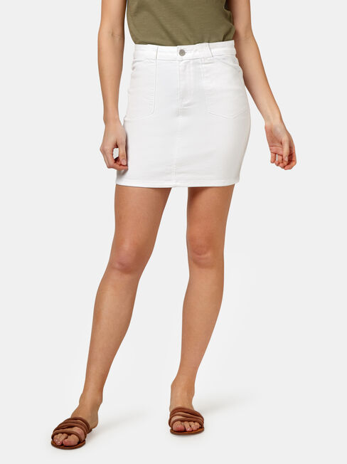 Mel Patch Pocket Skirt