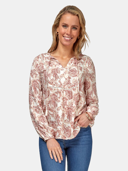 Grace Peasant Blouse