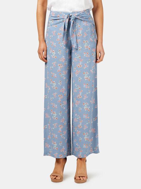 Lilly Printed Pant, Print, hi-res