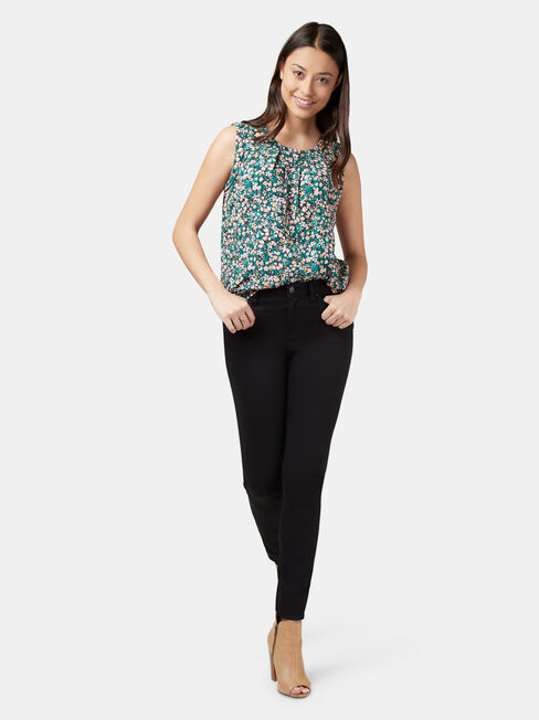 Emily Pleat Front Top