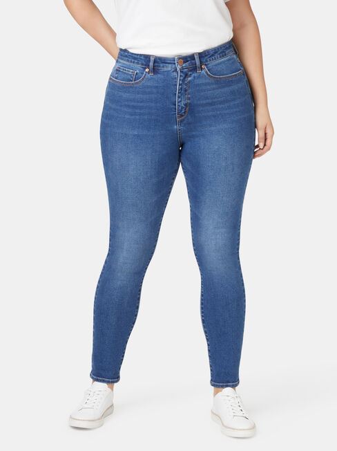 Ellie Curve Embracer High Waisted skinny 7/8 jeans