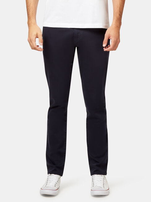 SLim Tapered Coloured Knit Jeans