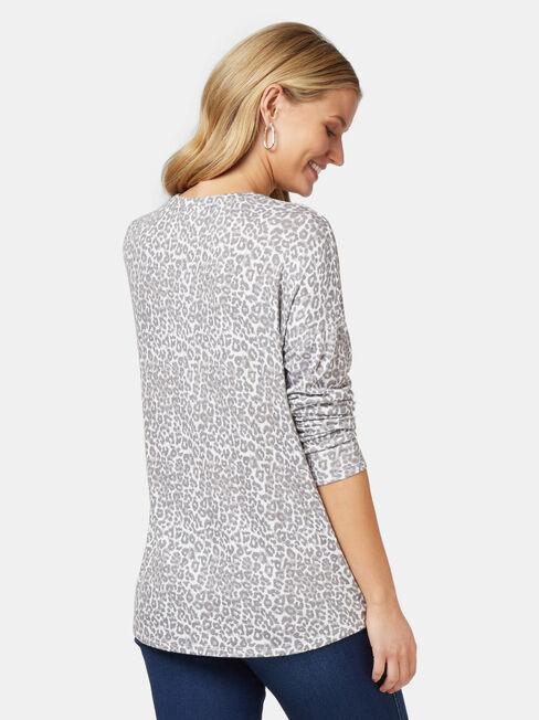 Alice Soft Touch V-Neck Pullover, Multi, hi-res