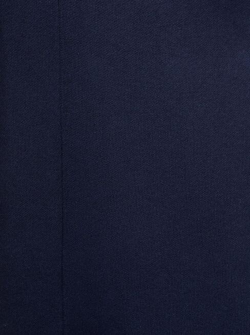 Karina Belted Longline Coatigan, Blue, hi-res