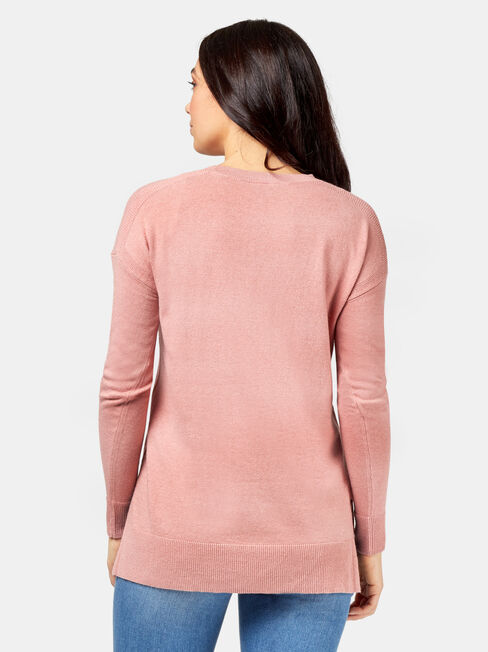 Reese Pullover, Pink, hi-res