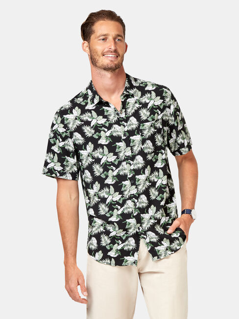 Fox Short Sleeve Print Shirt