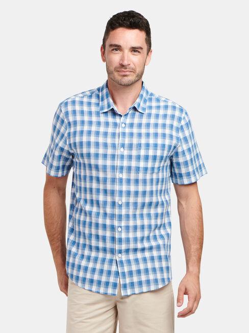 Trent Short Sleeve Check Shirt