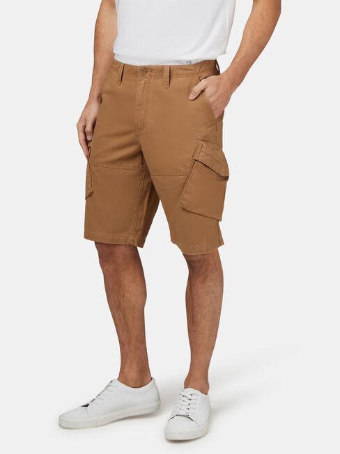 Archie Cargo Short, Brown, hi-res