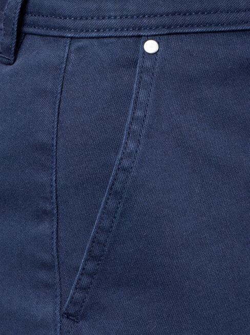 Caroline Studded Short, Blue, hi-res
