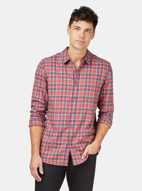 LS Harley Brushed Check Shirt